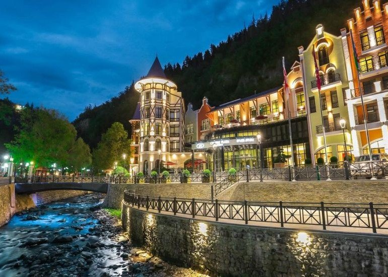 CROWNE PLAZA BORJOMI SPA & WELNESS CENTER*****